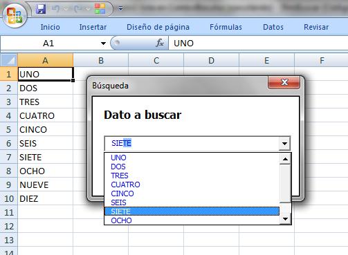 Utilizar Un Combobox Como Lista De B 250 Squeda En Excel